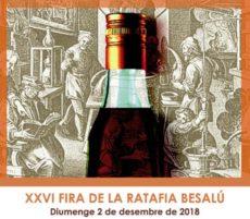 La  Fira de la Ratafia de Besalu, el proper dos de Desembre