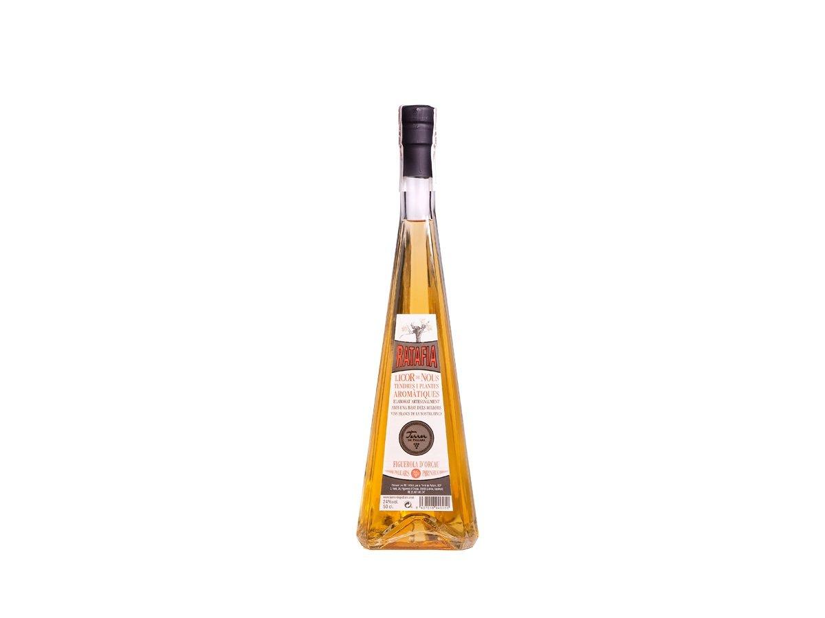 RatafIa Terrer de Pallars, Figuerola d' Orcau, Pallars Jussà- ratafia amb base de vi macabeu